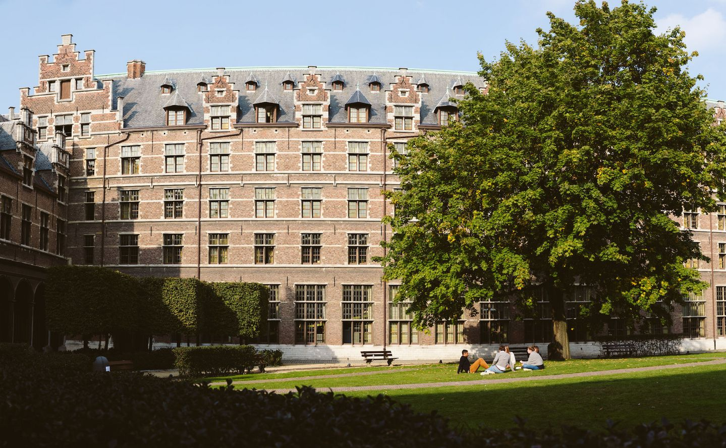 Picture of the city campus of the University of Antwerp